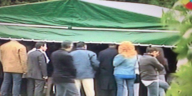 El último adiós a Ricardo Fort: así fue la ceremonia en el cementerio de Pilar