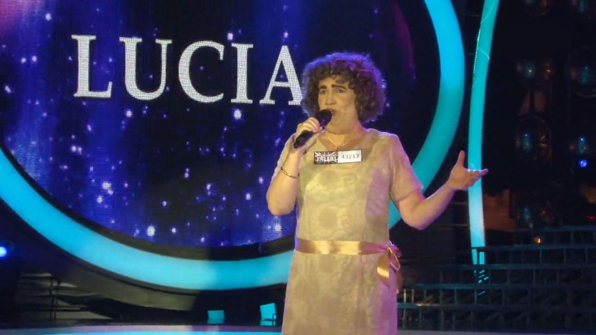 Tu cara me suena: Lucía Galán imitó a Susana Boyle y ganó la gala