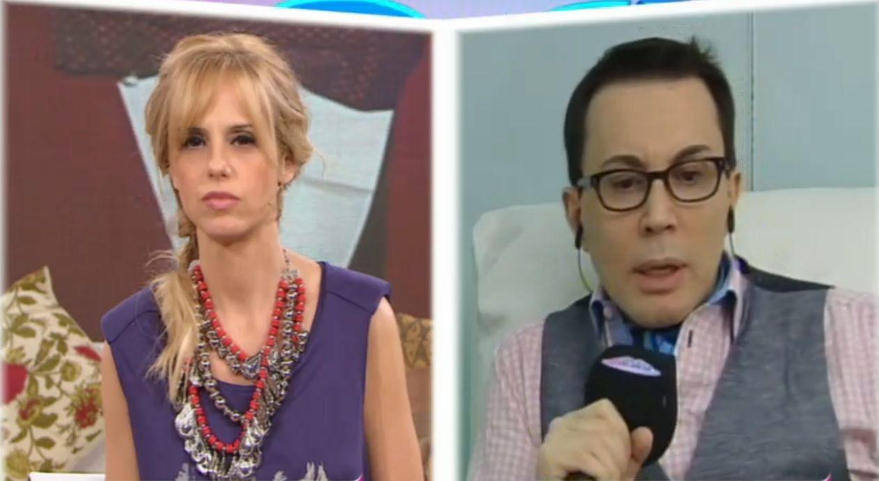 El incómodo y tenso cruce de Marcelo Polino y Fabbiani en El diario de Mariana