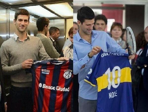 El picante cruce futbolero de Marcelo Tinelli y Mauricio Macri por Djokovic