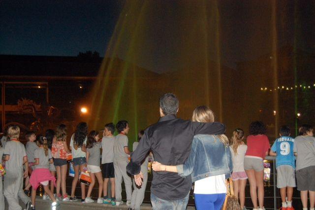Marcelo Tinelli le festejó el cumpleaños a su hija Juanita en un parque de diversiones