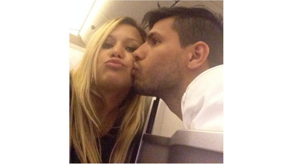Las románticas fotos del Kun Agüero y Karina, La Princesita