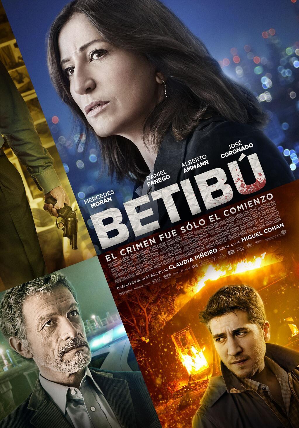 Mercedes Morán ya tiene el afiche de su nueva peli Betibú