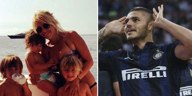 Wanda Nara: Me voy a vivir con mis hijos a Milán, en donde está Mauro Icardi