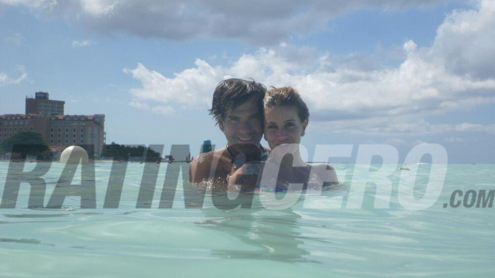 El álbum íntimo de la mini luna de miel de Florencia Peña y su novio en el Caribe