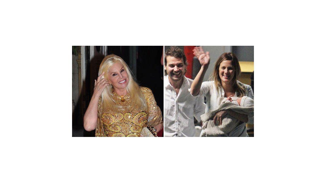 Susana hará la presentación en sociedad de la beba de Paula Chaves y Pedro Alfonso