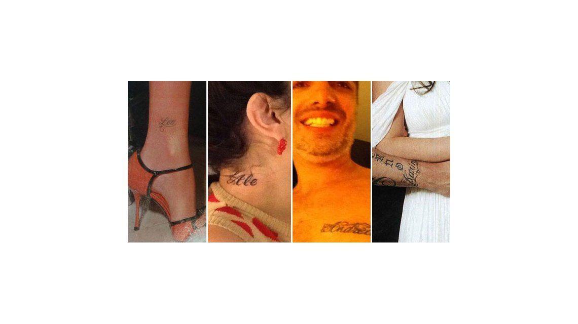 Tatuajes, la maldición de los famosos