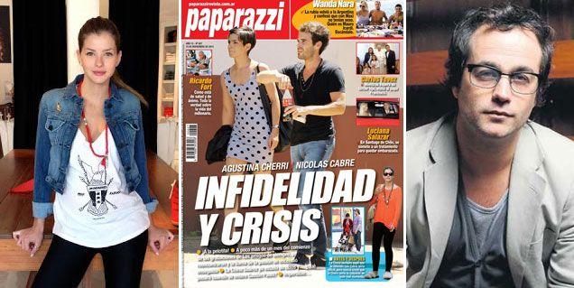 Rumores de crisis e infidelidad: ¿Nicolás Cabré y Agustina Cherri, juntos?