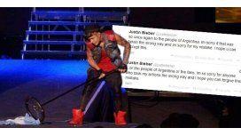 Justin Bieber pidió perdón: Nunca haría nada por faltar el respeto a Argentina