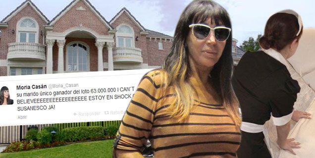 La mucama de Moria Casán se ganó el Loto y renunció: obtuvo 63 millones de pesos