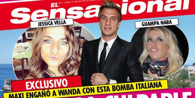 Dicen que Maxi López dejó a Wanda Nara por una modelo italiana de 22 años