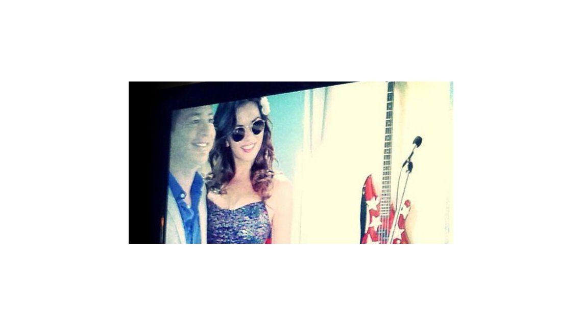 El primer día de grabación de Karina Jelinek con Adrián Suar en Solamente vos