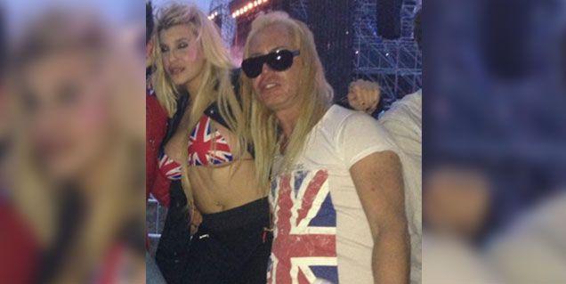 Charlotte Caniggia, descocada el sábado a la noche en la Creamfields