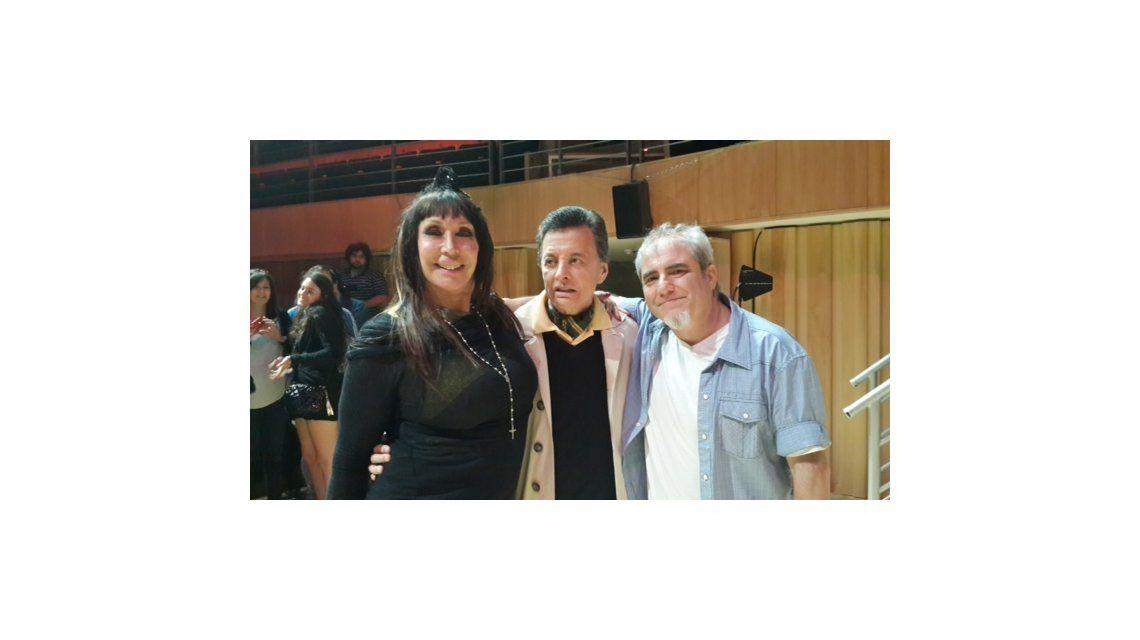 Encuentro: Moria Casán y Palito Ortega fueron a ver Y un día Nico se fue