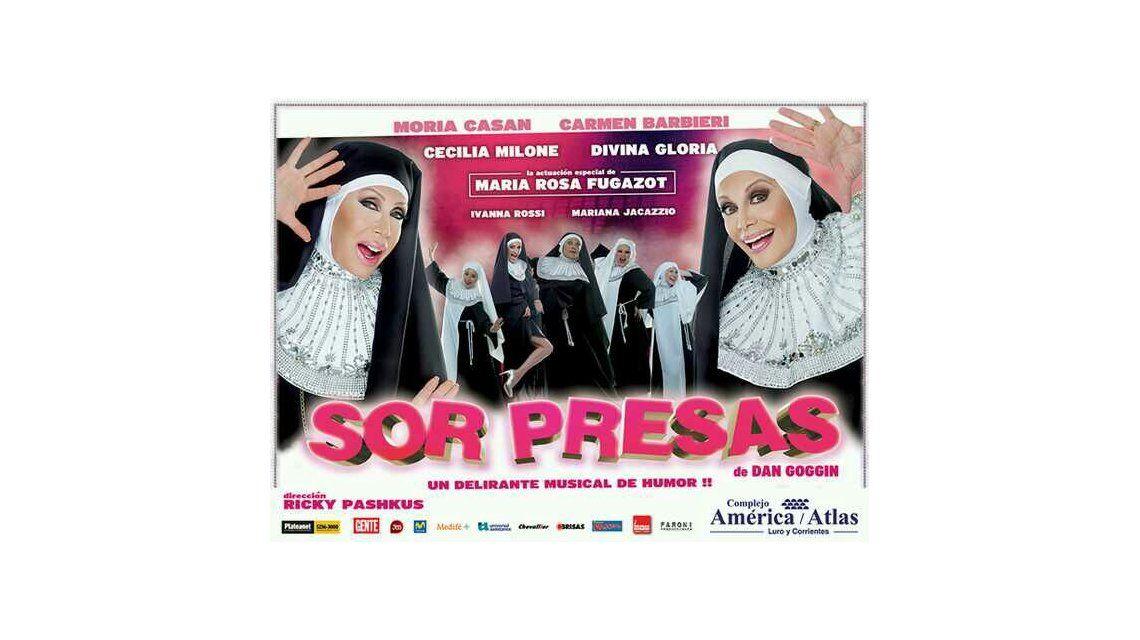 Sorpresas, con Carmen y Moria, debuta el sábado en Mar del Plata