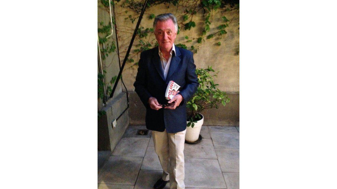 En medio del conflicto con Flor de la V, Marcelo Polino presentó su libro