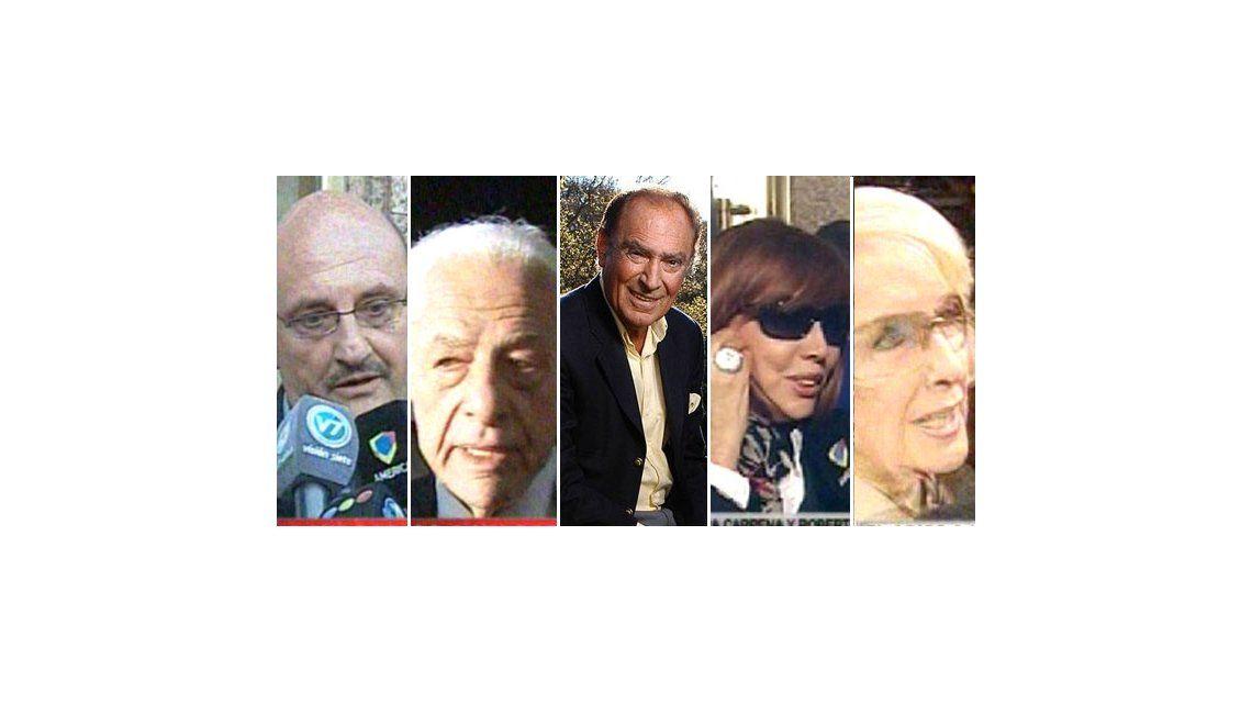 El último adiós a Juan Carlos Calabró: los famosos que asistieron al velorio