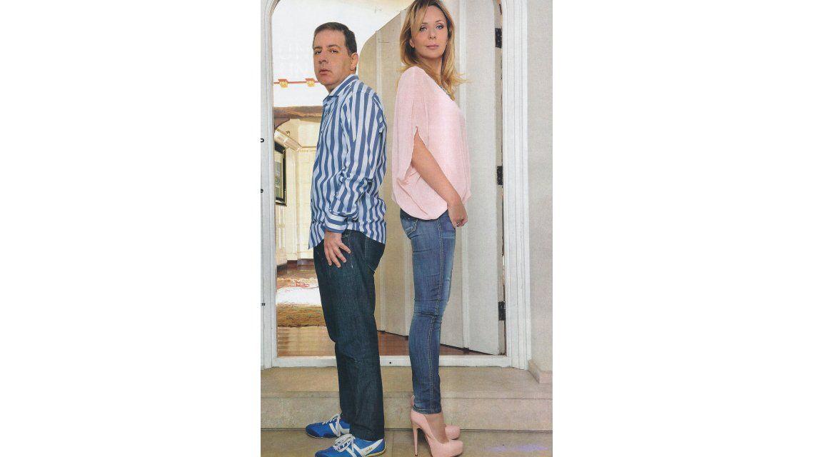 Fabián Doman y Evelyn, feroz interna en la tapa de los personajes del año
