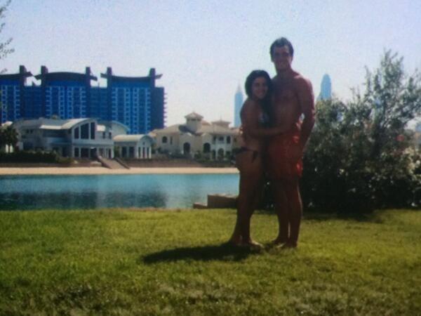 Las románticas vacaciones de Gianinna Maradona y su novio en Dubai