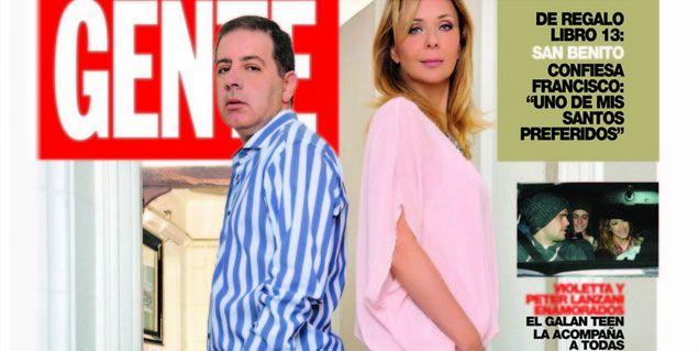 Evelyn hizo una tapa de revista con Doman: Fabián me cag... la vida