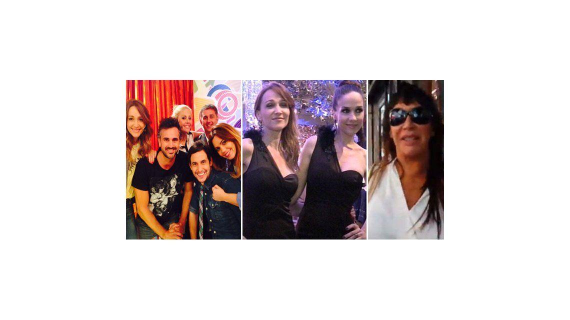 Moria Casán en el Once; Vero Lozano habló del vestido idéntico con Natalia Oreiro