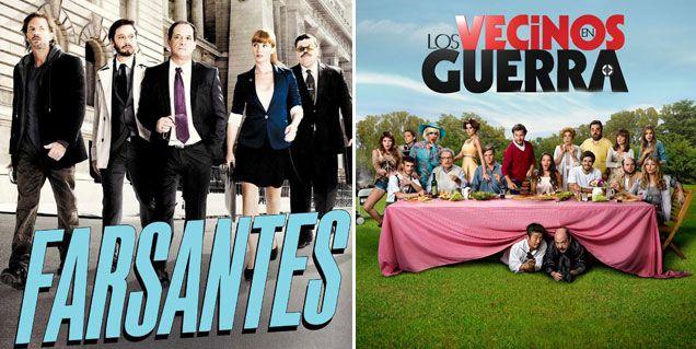 Los ratings de la noche del jueves: Farsantes 14.5; Vecinos en guerra 13.7