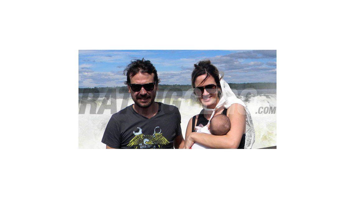Las fotos de Paula y Pedro con Olivia y Listorti con su familia en las Cataratas