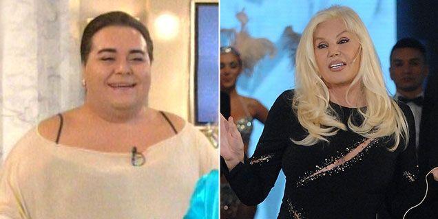 Falete duro con Susana Giménez en el programa de Mirtha Legrand