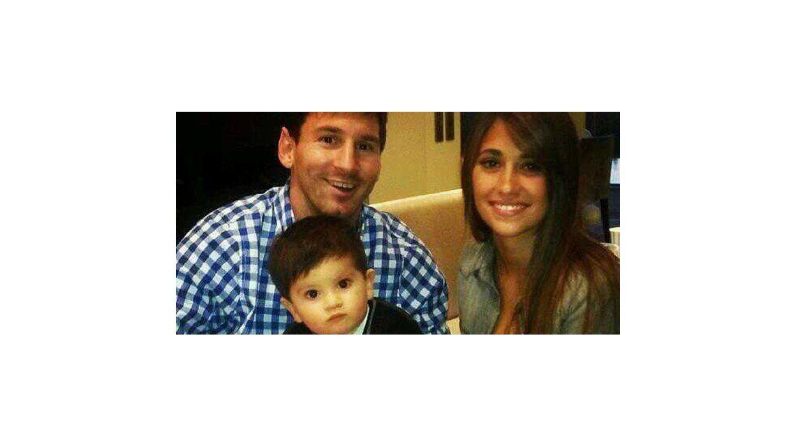Messi festejó en Rosario junto a Antonella y Thiago: su mensaje por Navidad