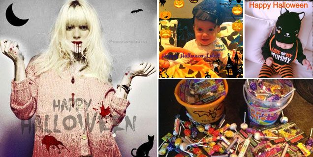 ¿Dulce o truco? Los famosos festejaron Halloween
