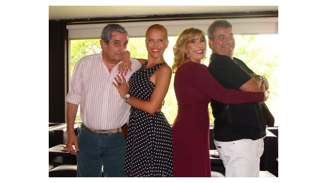 Las fotos del nuevo elenco de Nazarena Vélez: Los locos Grimaldi