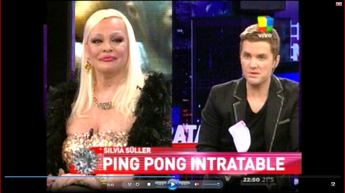El ping-pong porno de Silvia Süller en Intratables: Hoy, hago el amor por dinero