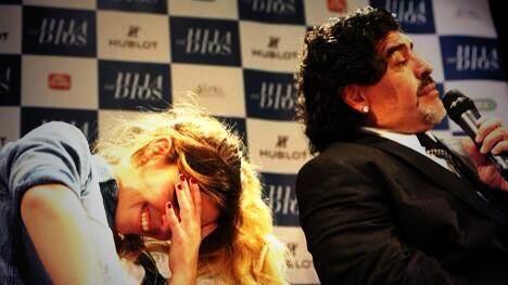 Dalma y Gianinna le dedicaron emotivos mensajes a Diego por su cumpleaños