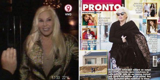 Susana y su mansión maldita; las cirugías y Marcelo Tinelli son polémica