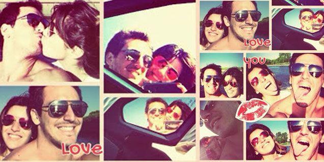 Gianinna Maradona publica fotos con su novio y mensajes románticos: Te amo