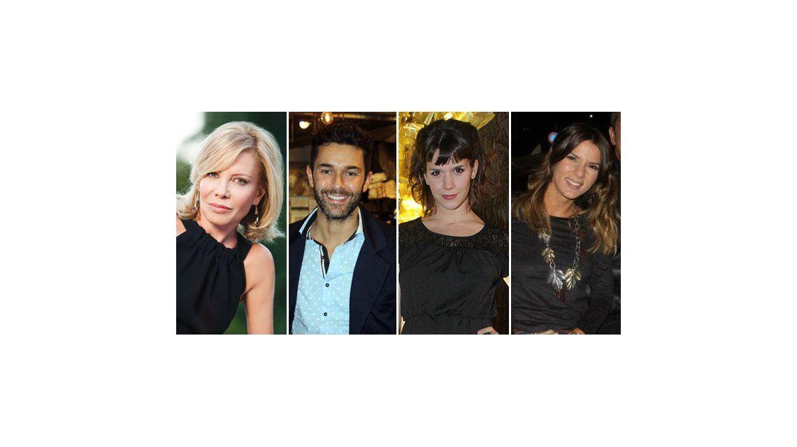 Cecilia Roth, Mariano Martínez, Accardi y Violeta Urtizberea, protagonistas