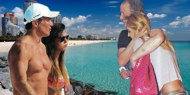 Jésica Cirio e Insaurralde se van el lunes a Miami con Fernando Burlando y su novia