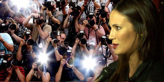 Luego del escándalo con la prensa, Paula Chaves prohíbe mostrar fotos de Olivia