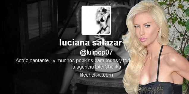 Luciana Salazar más misteriosa: nuevos tweets hablando de su calvario