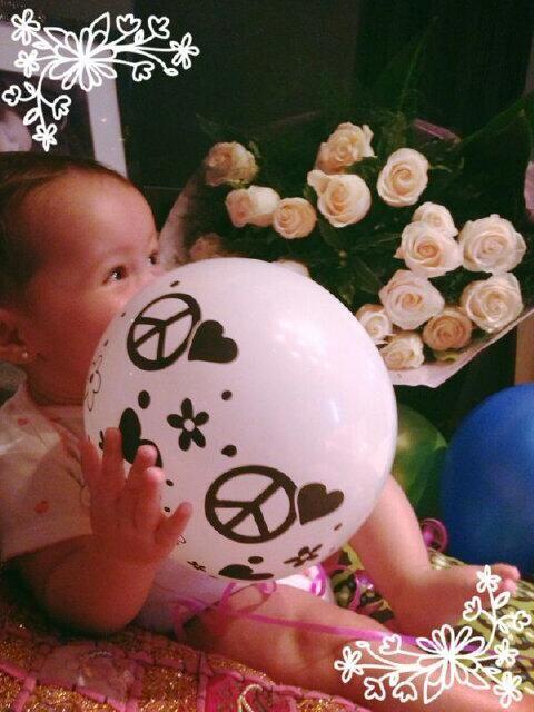 El festejo íntimo de Diego Torres, Débora Bello y su beba Nina por el Día de la Madre