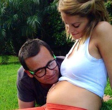 Vanina Escudero y Alvaro Navia festejaron el embarazo de su primer bebé