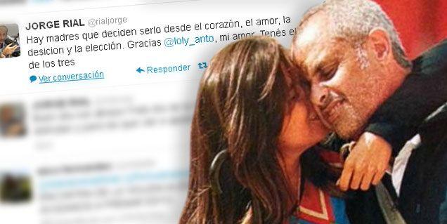Rial le dedicó un tweet especial a Loly Antoniale en el Día de la Madre