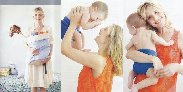 Las fotos más tiernas de Carla Peterson con Gaspar, su hijo con Martín Lousteau