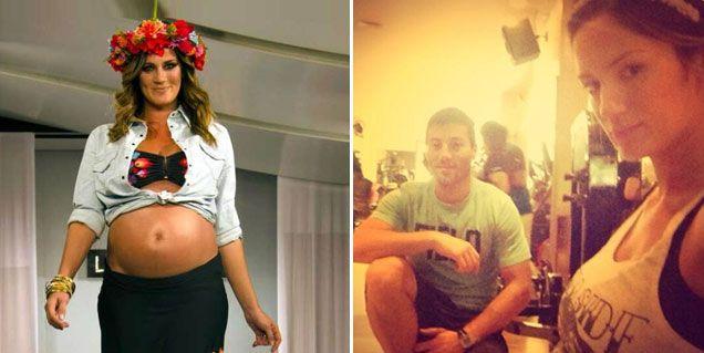 Tras engordar 30 kilos con su embarazo, Paula Chaves intenta recuperar su figura
