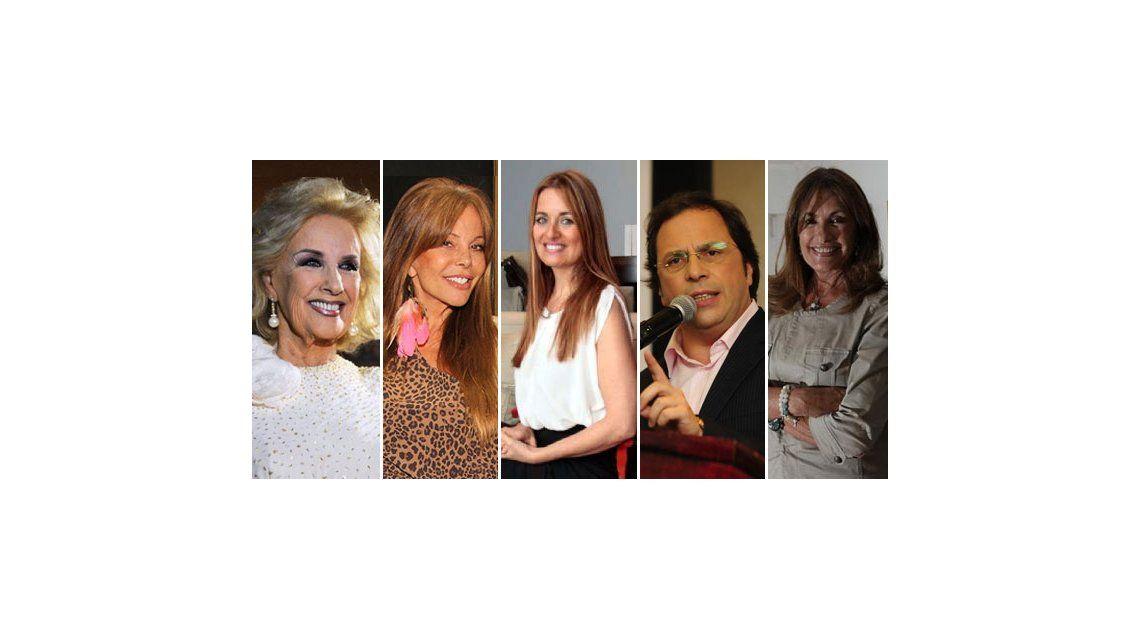 La lista completa de invitados a la mesa de Mirtha del próximo domingo