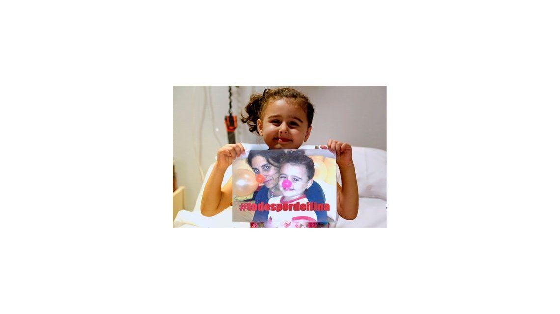 Ayudemos a Delfina: padece leucemia y necesita un trasplante de médula ósea