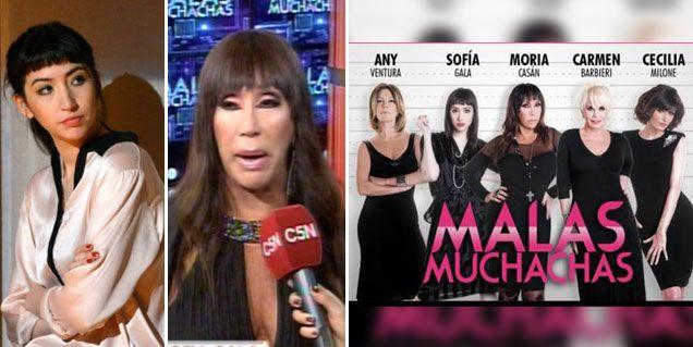 Sofía Gala pidió un pacto de no agresión con Moria para volver a Malas muchachas