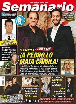 Dicen que Camila (Julieta Cardinali) mata a Pedro (Vicuña) en Farsantes