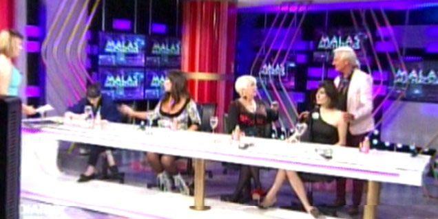 Escándalo en Malas Muchachas: así fue la pelea de Moria y su hija Sofía Gala