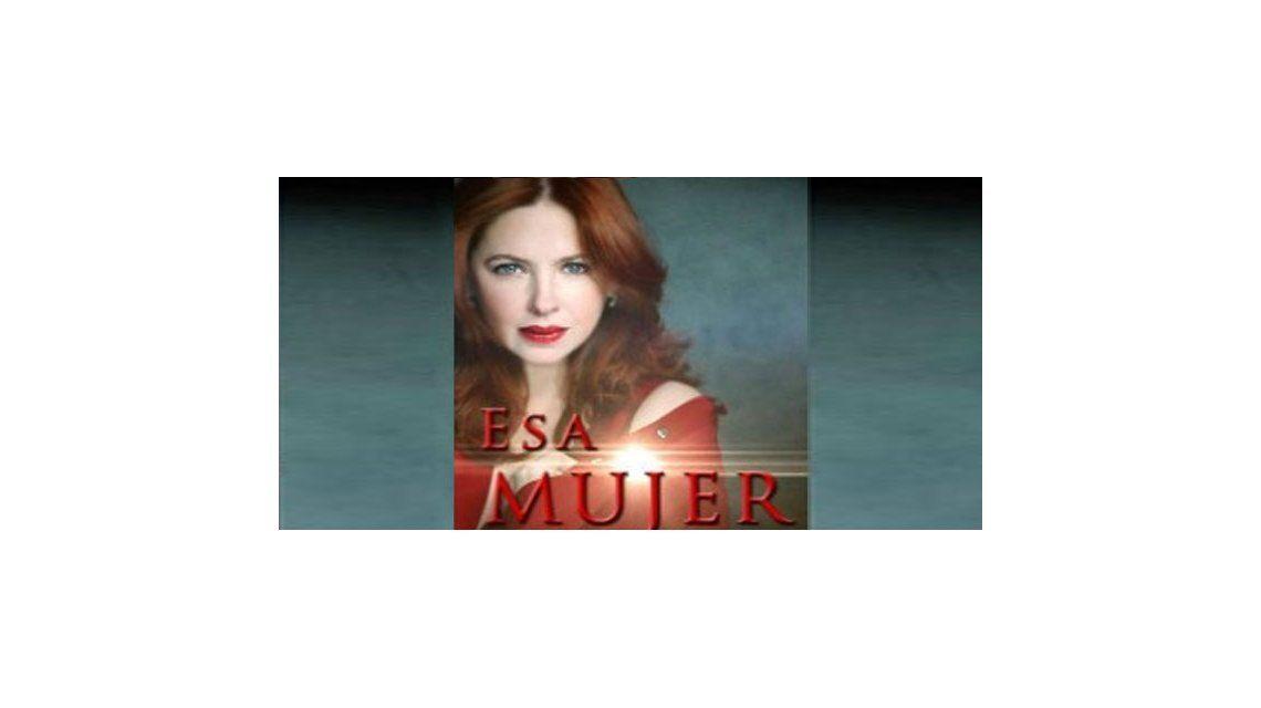 Esa mujer, la novela de Andrea del Boca por la tv pública, en línea de largada